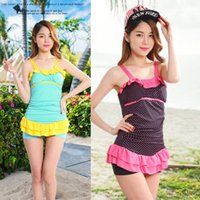 Wholesale women s swimwear piece swimsuit hot springs conservative skirt factory new explosion models shipping