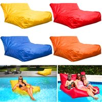 Wholesale 2015 Hot cost extra large floating beanbag summer swimming beanbag