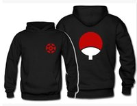 Wholesale Women men Naruto Sasuke Uchiha rock clothes coat Hoodies Sasuke fan sweatshirts