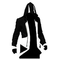 Gros-Assassins Creed Ezio Cosplay Costume Hoodie / Manteau / Veste