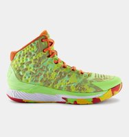 under-armour - 2015 Under Summer Style Basketball Shoes Stephen Curry One Candy Reign Hyper Green Colorway High Quality Athletic Sneaker Armour