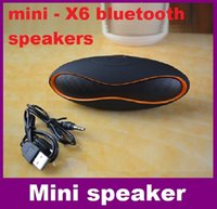 Wholesale Wireless Bluetooth Speaker QFX Portable Rugby Music Sound Box Subwoofer Loudspeakers TF AUX USB FM with Built in Microphone