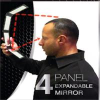 Wholesale 5pcs Set Random Color DIY Portable Folding Makeup Mirror Multi angle Four Sides Plane Mirror Professional Cosmetic Mirror High Quality