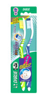 Wholesale Toothbrush super soft hair elastic deep clean toothbrush Two favorable color randomly