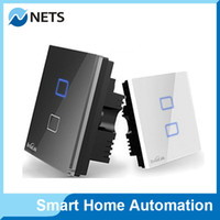 automation controls - Broadlink TC1 Wireless Gang Wifi Remote Control Wall Light Touch Screen Switch Smart Home Automation AC110v V Android IOS