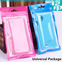 Cheap Universal Plastic PC Retail Bag Box Package Pouch Packaging Charger Cable Case Cover For iPhone 4 4S 5 5S 5C Samsung Galaxy S3 S4 Note 2 3