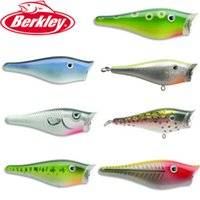 berkley frenzy - Berkley Brand Frenzy Series FP7 Popper Bait g cm Topwater Hard Fishing Lure Plastic artificial Bait with VMC hooks and feather