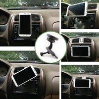 Black car gps stand - Univesal Car Bracket CD Slot Mount rotation Car Magnetic Mobile Phone Holder Stand for iphone Plus S Smartphone GPS Pad K2156