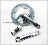 Cheap TIAGRA 4600 Road bike Crankset 10S Bicycle Bike Chainwheel 170mm 175mm for 4600 shimano crankset