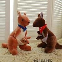 australian festivals - 2016 New Plush toys Australian kangaroo doll festival dolls mother kangaroo factory direct sale