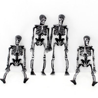 halloween supplies - 4pcs Halloween props bar supplies Funny small skull ghost skeleton