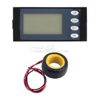 Wholesale 100A AC Digital LED Power Meter Monitor Voltage KWh Watt Voltmeter Ammeter YKS