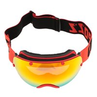 Wholesale Anti fog Professional Snowboard Skiing Goggles UV Protection Men Women Outdoor Sport Windproof Glasses