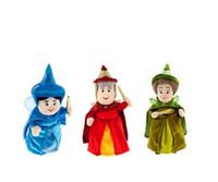 aurora plush toys - Fairies Merryweather Fauna Flora Aurora Sleeping Beauty Fairy cm Plush Toys