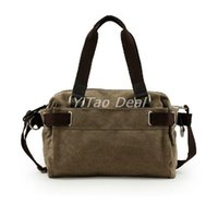 army tm - YiTao TM Vintage Men Brief Case Canvas Man Bag Travel Messenger Shoulder Bag Travel Utility Work Bag Messenger Bag