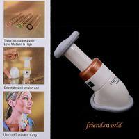 Wholesale 1000pcs Neckline Slimmer Portable Neck Line Exerciser Thin Jaw Chin Massager DHL Fedex UPS