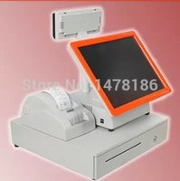 bar pos system - Brand New TH touch pos system quot touch computer mm thermal printer cash drawer LED customer display bar code