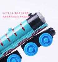 70 Style niños Thomas de madera pequeños trenes de dibujos animados Thomas tren de madera Trenes Juguetes Amigos Trenes de Madera Juguetes de coches Regalos de Navidad
