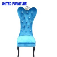 Wholesale UK Fabric Dining Chair Dining Room Decoration Jacquard Chair Hotel Wedding Party Banquet Chair