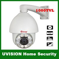 Wholesale 1000TVL CCTV X Zoom IR Day Night PTZ Camera SONY EFFIO CCD Built in Heater Fan M IR Distance With RS DHL