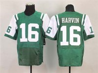 Wholesale 2014 New Punt Returner Green White Elite American Football Jerseys Name Number Embroidered High Quality Top Players Football Uniform Kit