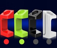 Wholesale For Apple Watch E7 Stand Docking Station Rechargeable Display Charging Holder For iwatch mm mm with Retial Package Colors in Stock
