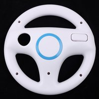 steering wheel for pc game - New White Steering Wheel for Wii Mario Kart Game Accessories for PC games Computer game steering wheel