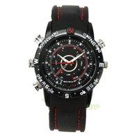 spy watch - Camcorders Wrist spy Watch GB HD spy Camera watch Waterproof and Night Vision Audio Video Voice Recorder