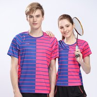 Wholesale Li Ning Thomas Cup Badminton Race Suit Quick Dry CHINA Version Badminton Sport Shirt Men And Women Model AAYL029 AAYL034