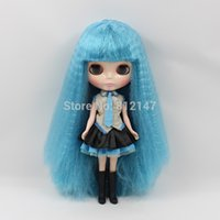 action cost - cost Nude action figure dolls Blue hair