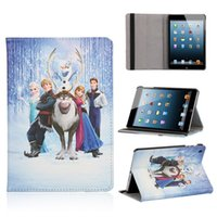 Wholesale 2015 Top Quallity Original Leather cartoon Flip Case For Ipad Mini Mini retail package