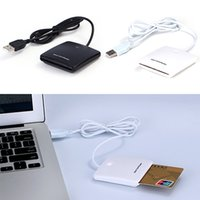 Wholesale USB EMV Chip Smart Card Reader Writer Supports Mac OS Window XP Driver CD