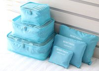 bag cube - Travel Storage Bag Packing Cube Portable Organizer Case Cosmetic Bag Pack More In Less Space Via Free Shippping