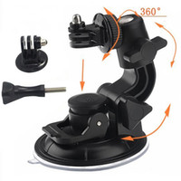 Wholesale Go Pro Accessories CM Multi Purpose Suction Cup Universal Car Holder Adapter Mount with Screw for Gopro Hero SJ Camera