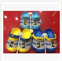 garden clogs shoes - kids shoes Batman Clog Shoes Kids Cartoon EVA Summer Garden Shoes spiderman baby sandals Shoes R736