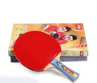 Wholesale 2016 new Double happiness table tennis racket Samsung racket long some opinions Tennis Rackets