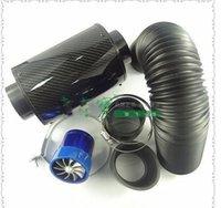 air tank manifold - 7pcs set Universal car superconducting flow driving force of the wheel intake manifold air filter intake turbin tank