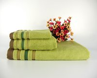 Wholesale Towel Sets Better Than Cotton Towels Bamboo Fiber Towels Three Suits owels