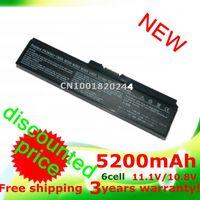 Wholesale 5200mAH laptop Battery For TOSHIBA Equium U400 Portege M800 Satellite A655 A660 A665 A665D C645D C650 L510 L515 L600