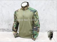 Cheap Wholesale-TMC1819-WL Combat Shirt ( Woodland ) Tactical Shirt TMC1819-WL Free Shipping Please support home furnishings