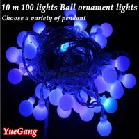 ac variety - Variety LED with male female connectors M bead v Colorful New year Christmas Decoration String Lights