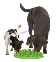 Wholesale hot sale good quality Interactive Med Large Dog cat Puppy Slow Feed Bloat Non Slip Feeder Bowl Dish