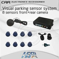 Wholesale HEPA car lada radar parktronic parking park Visual sensor sensors system with front rear camera support car dvd gps monitor