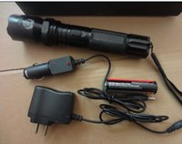 battery operated flashlights - Cheap Retail LED flashlight safty type for security torch light operated with battery on sale