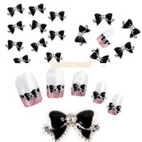 acrylic nails suppliers - Nails Supplier D Plastic Glitter Bowtie DIY Acrylic Nail Design Nail Art