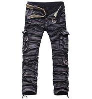 arrival slacks - new arrival winter Casual fashion men s Cargo pants multi pocket cotton slacks colors men pants male