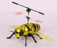 alien ufo toys - 300PCS LJJH913 New Arrival Bumblebee RC Helicopter Remote Control Toys UFO Alien Magic Flying Electronic Toys Action Toy