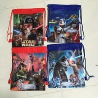 Wholesale 2016 hot sale Patrol dog Season style Marshall Ryder Drawstring Bag bags Star Wars style Baby bag backbags baby