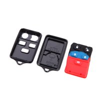 Wholesale 5 Button Remote Key Replacement Folding Car Flip Key Shell Case Fob Rubber Pad Keyless Entry Cover Holder for Ford