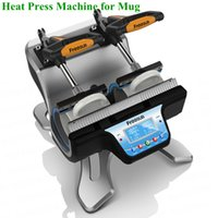 Wholesale Freesub ST Mini Doubule Staion Mug Heat Press Machine Mug Heat Transfer Mini Sublimation Machine